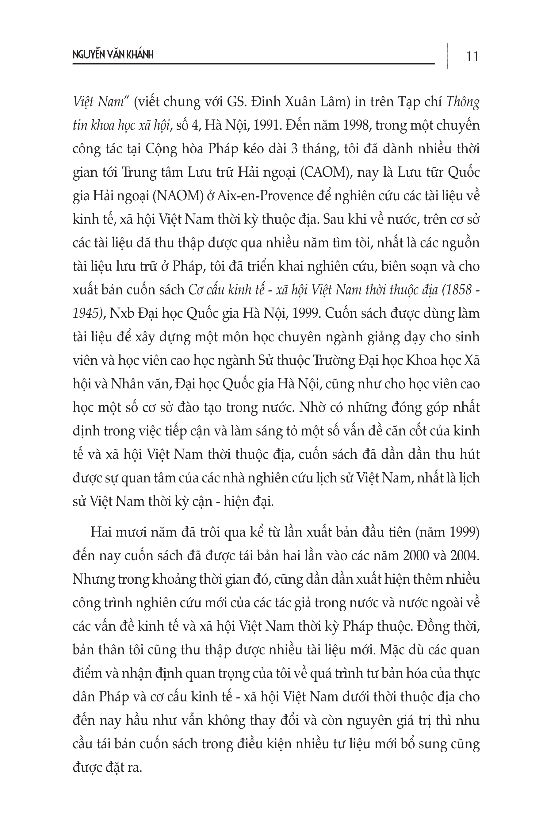 Cơ cấu Kinh Tế Xã Hội Việt Nam Thời Thuộc Địa (1858-1945)
