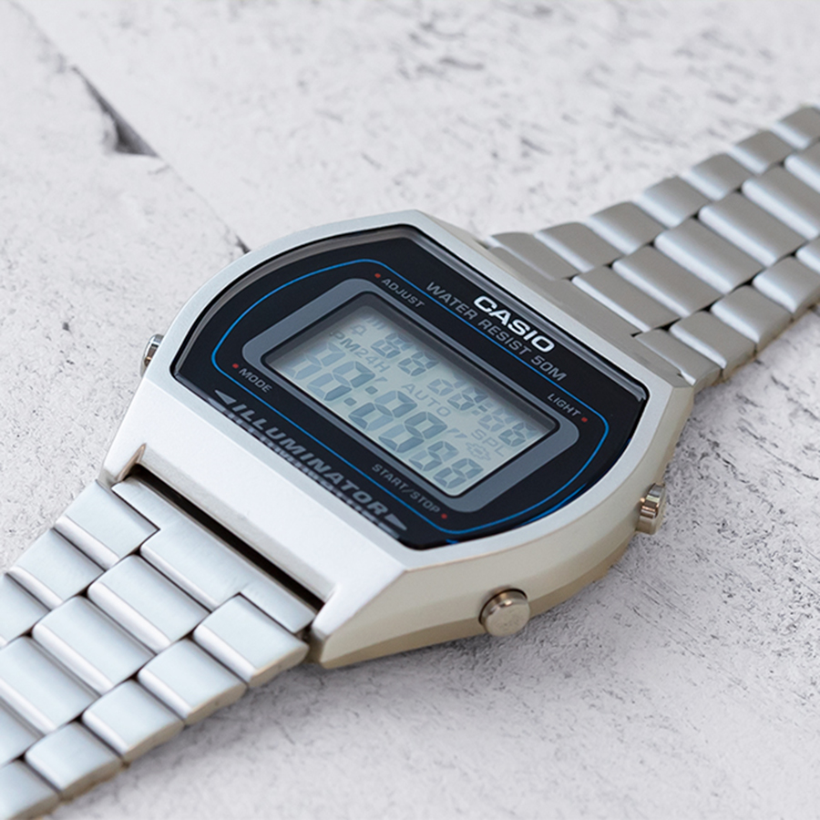 Đồng hồ unisex dây kim loại Casio B640WD-1AVDF