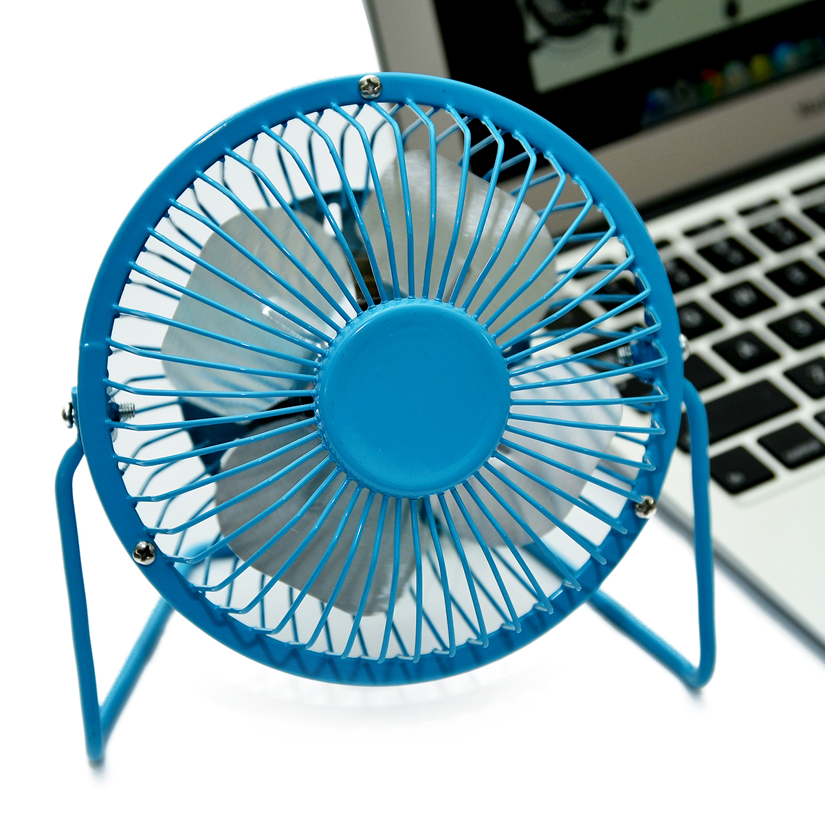 Combo 3 Quạt USB Mini Fan Lồng Sắt 4 inches