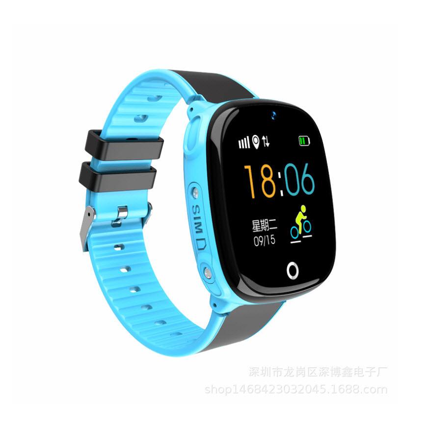 Đồng hồ định vị GPS chống nước HW11 Có camera (xanh)