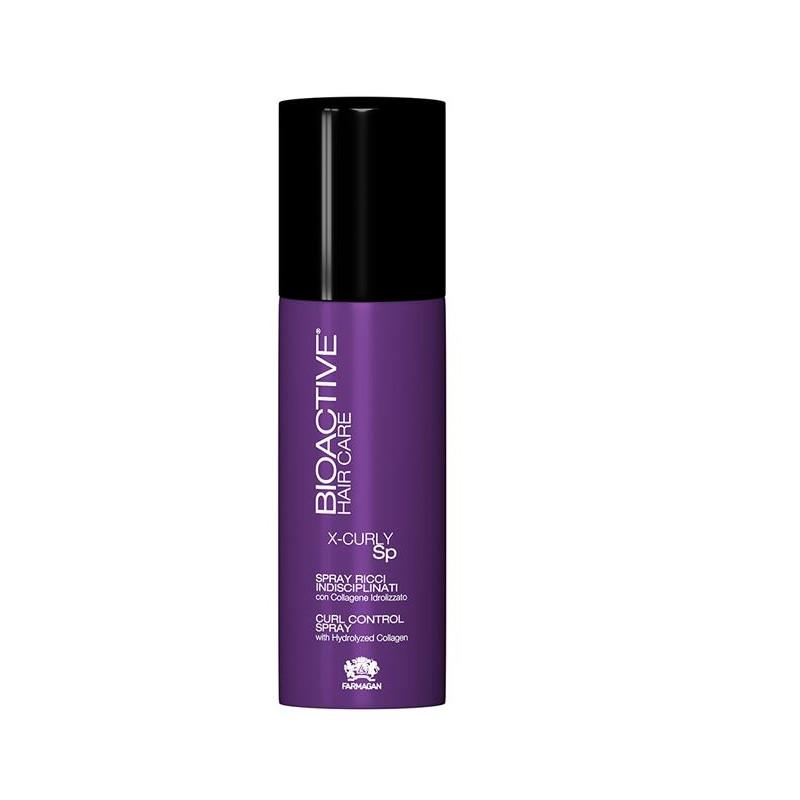 Xịt dưỡng Farmagan X-CURLY chăm sóc tóc uốn 150 ml
