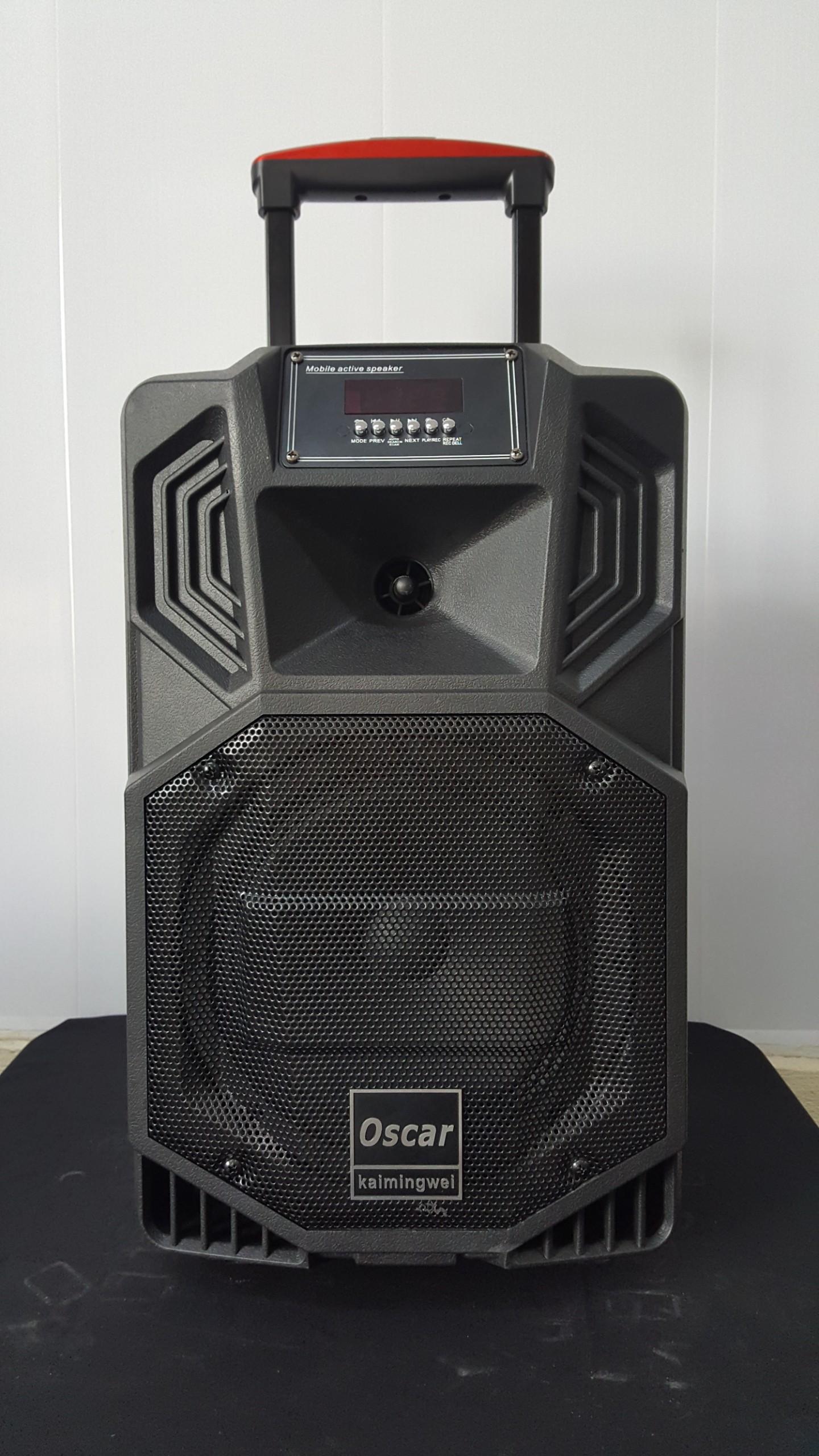 [CHÍNH HÃNG] Loa Kéo Cao Cấp Vỏ Nhựa Bass 30 OSCAR SR-12N