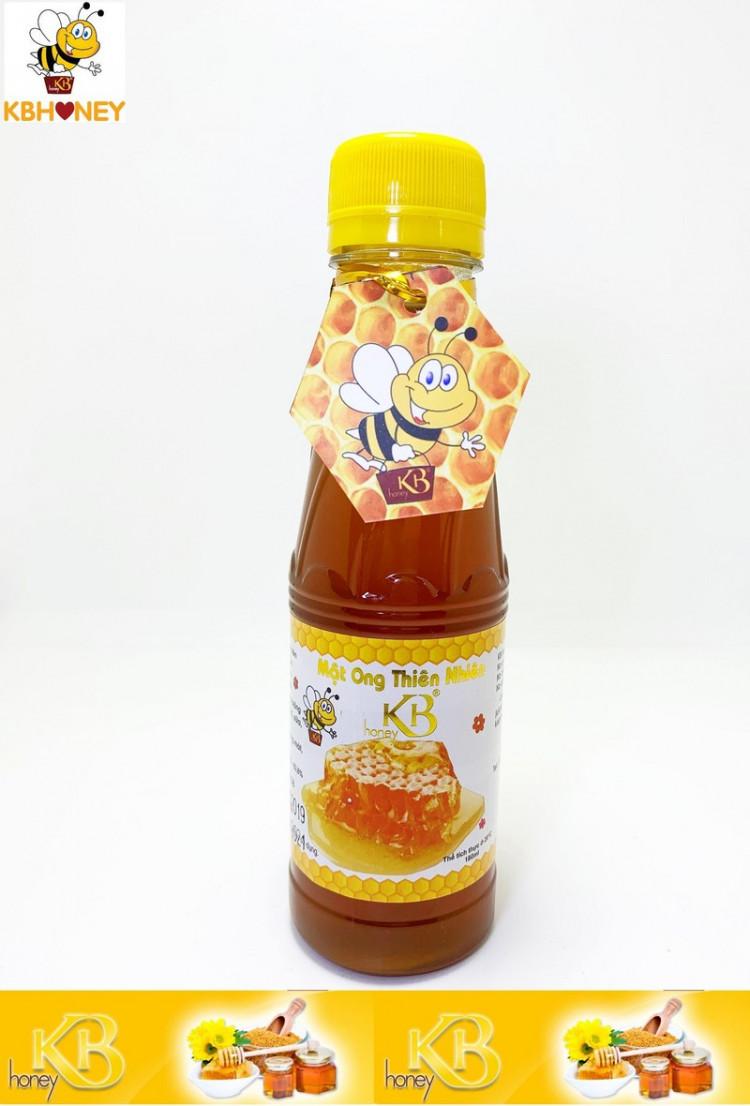 Mật ong thiên nhiên nguyên chất KB 180ml 1