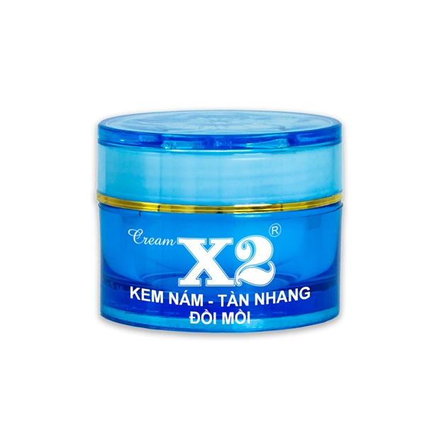 Kem Nám- Tàn Nhang - Đồi Mồi Cream X2 8g