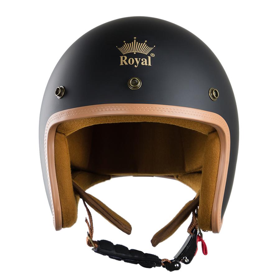 Mũ Bảo Hiểm Royal 3/4 M20B - Đen nhám
