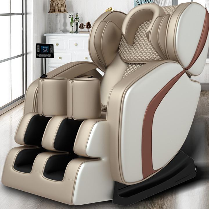 Ghế Massage Toàn Thân N8 Gold New - Ghế Massage công nghệ nhật tích hợp 18 chức năng màn LCD cảm ứng