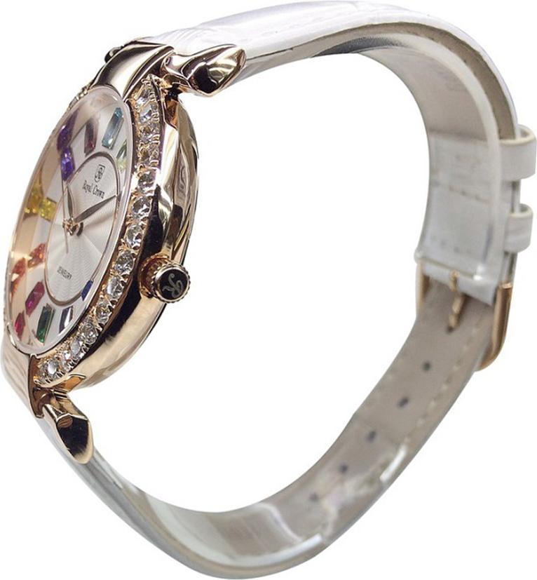 Đồng hồ nữ chính hãng Royal Crown 4604ST - RG trắng