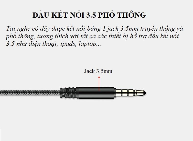 Tai Nghe Có Dây AK103 Chụp Tai On-ear AK103 (Giao Mẫu Ngẫu Nhiên )