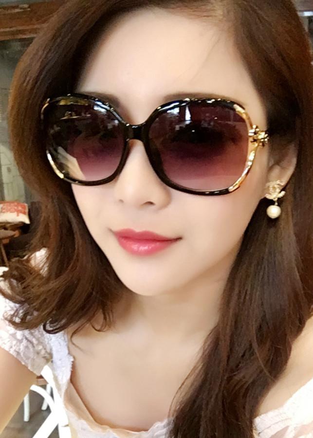 Kính thời trang nữ - CN858KT - Mắt kính mát nữ