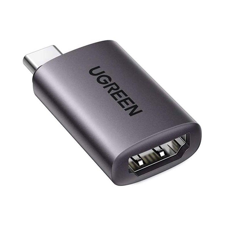 Bộ chuyển đổi USB type c sang HDMI màu ghi xám Ugreen 70450 US320 Hàng Chính Hãng