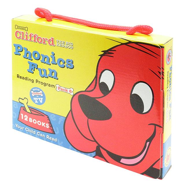 Clifford Phonics Fun Pack 6 (W/CD)