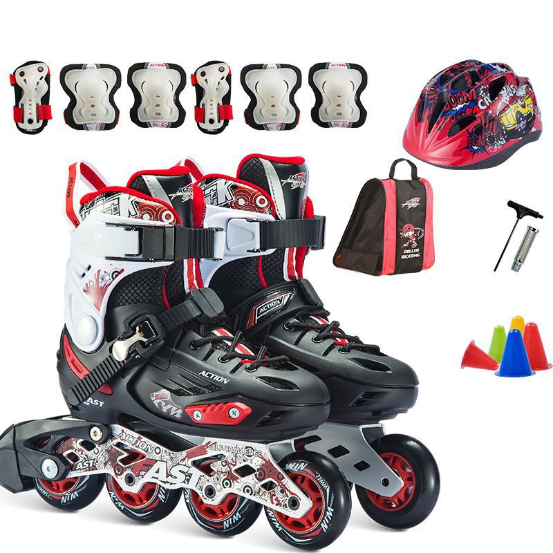 Giày trượt patin trẻ em, giày patin thể thao, giày trượt patin chuyên nghiệp, giày patin nam nữ, giày pain thời trang, giày patin cao cấp, giày patin action KÈM bộ phụ kiện