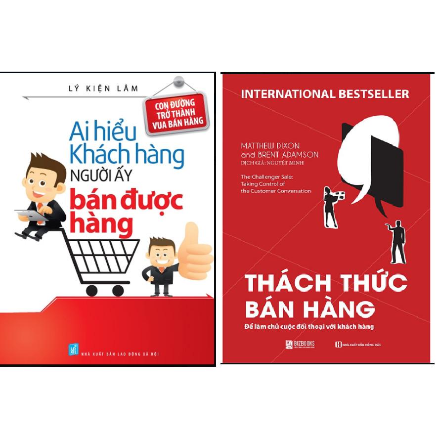 Combo Ai Hiểu Được Khách Hàng Người Ấy Bán Được Hàng+Thách thức bán hàng.Minhhabooks