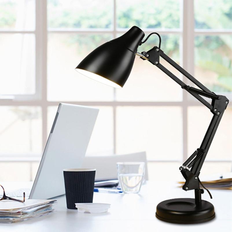 Đèn bàn, đèn học, đèn làm việc YEN hiện đại chống cận thị bảo vệ mắt - kèm bóng LED chuyên dụng.