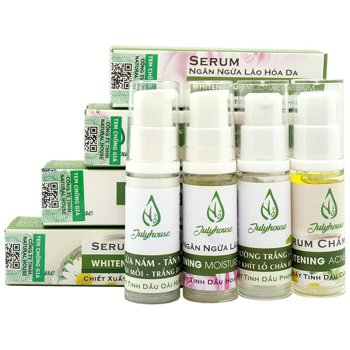 Serum chấm mụn chiết suất tinh dầu Cúc La Mã 5ml JULYHOUSE
