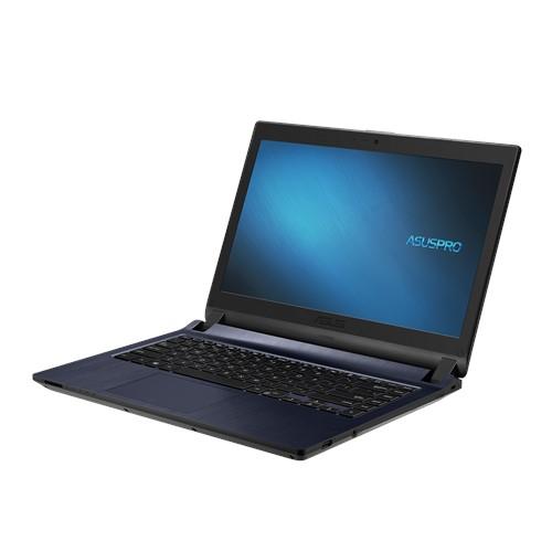 """Máy Tính Xách Tay ASUS PRO P1440FA-1501A8145U 14"""" FHD vi xử lí Intel i3-8145U Ram 4GB ổ cứng ssd 256GB SSD đổ họa tích hợp UHD 620 (xám) 1.6 kg Hàng chính hãng (Laptop)"""