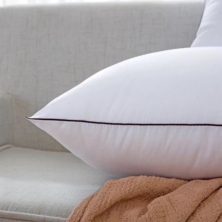 Đôi Ruột Gối Cao Cấp Làm Từ Bông Trắng Loại 1 - 50 x 70cm (1.5kg/2 Chiếc)
