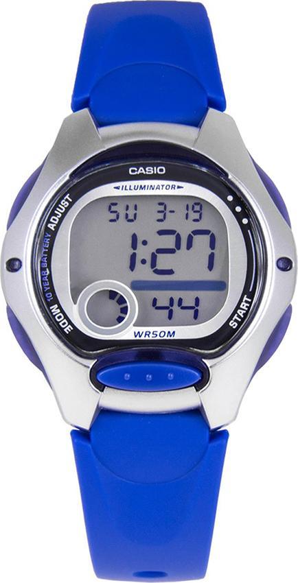 Đồng Hồ Nữ Dây Nhựa Casio LW-200-2AVDF (35mm) - Xanh
