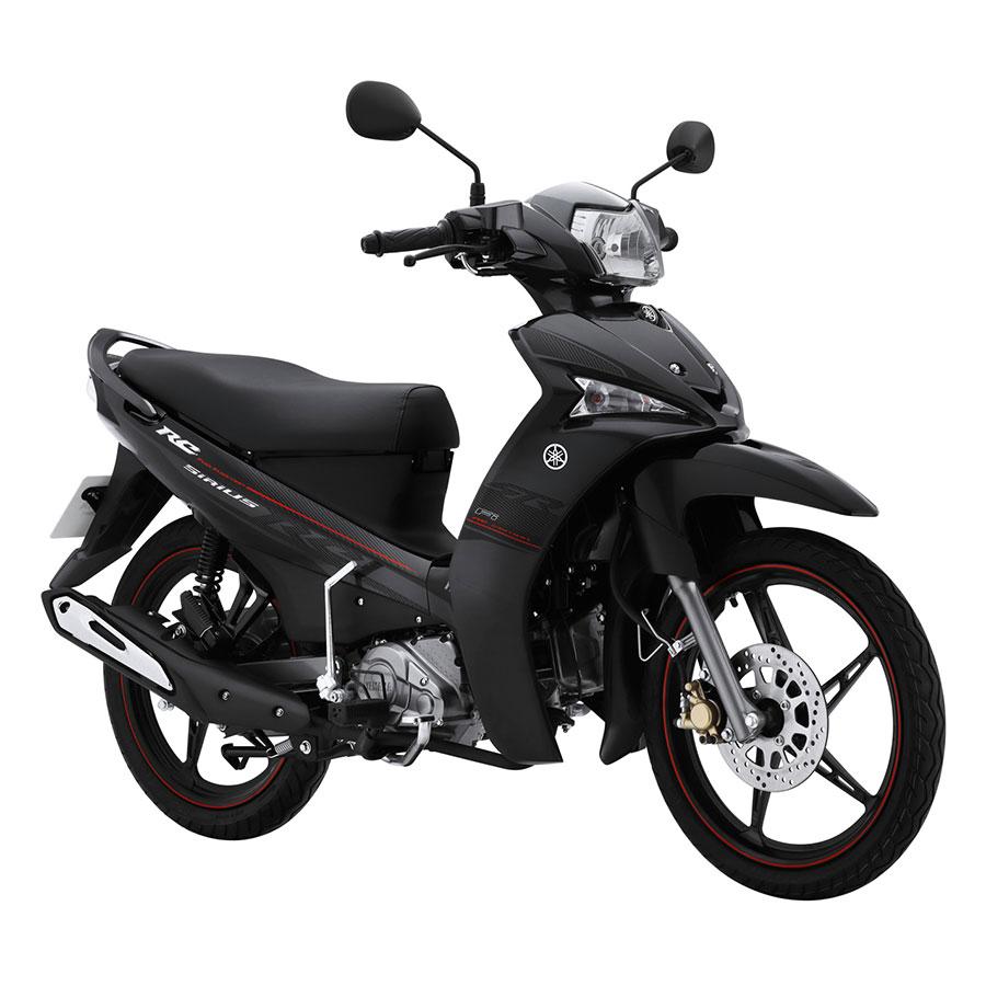 Xe Máy Yamaha Sirius Fi Vành Đúc - Đen