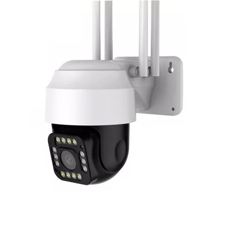 Camera IP ngoài trời X6100 siêu sắc nét 2K 3MP 14 Led quay màu ban đêm