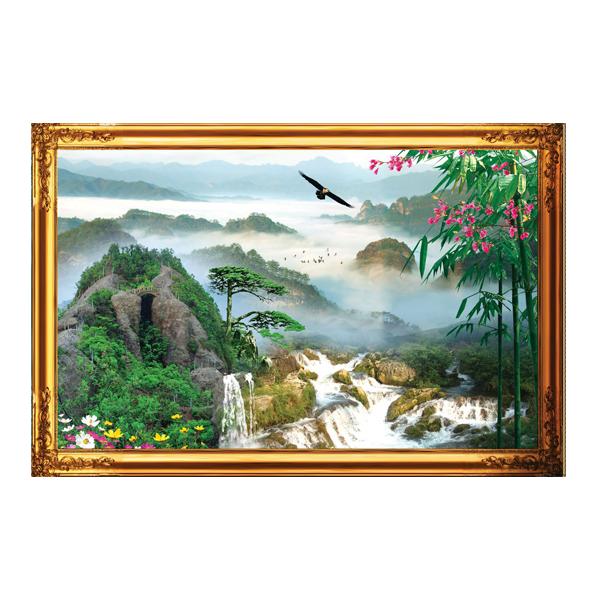 Tranh Phong Thủy Đẹp Q12K-ZTH(496)