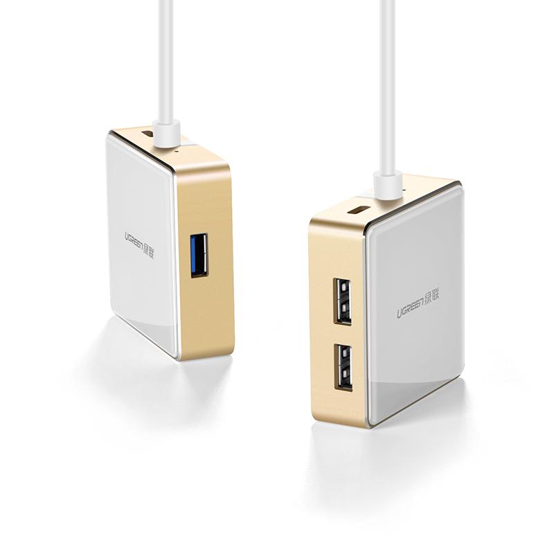Bộ chuyển đổi USB type C sang HDMI cùng Hub USB 1 cổng 3.0 và 2 cổng 2.0; hỗ trợ cổng sạc Macbook USB - C UGREEN US183 30441 - Hàng chính hãng