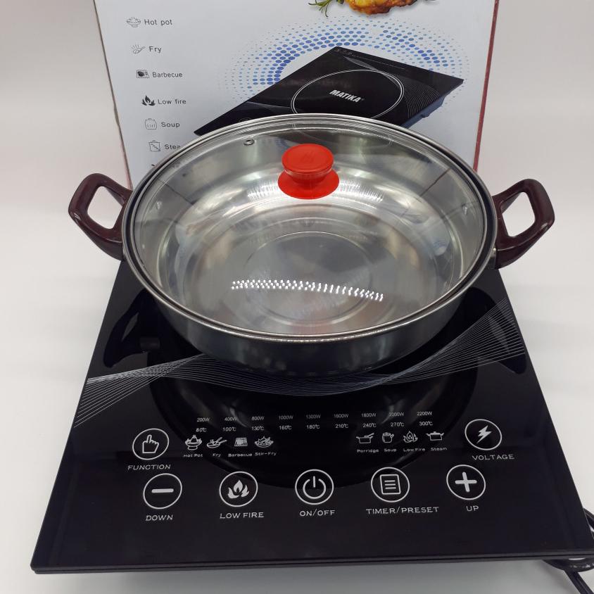 Bếp từ cảm ứng Matika MTK-2115 - Hàng chính hãng
