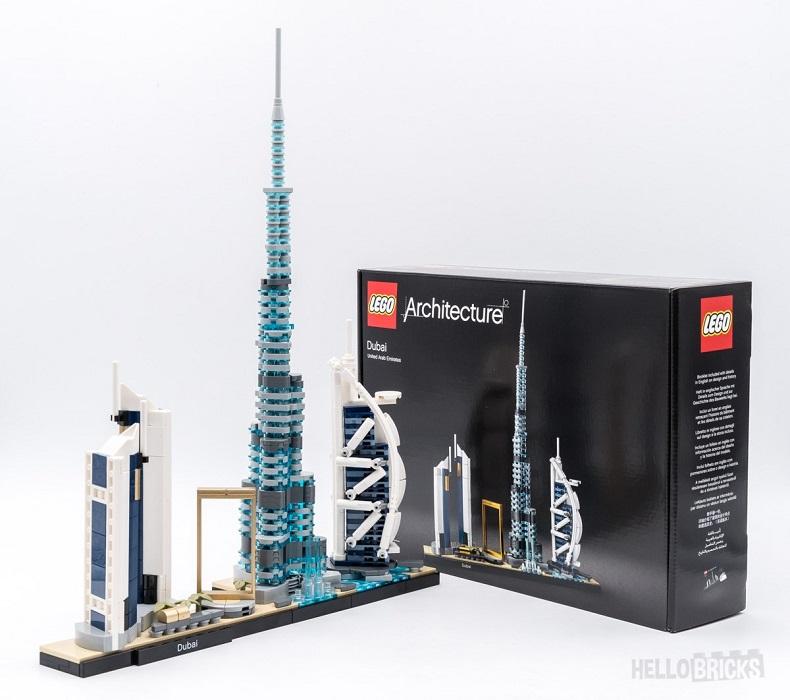 Mô hình đồ chơi lắp ráp LEGO ARCHITECTURE Thành Phố Dubai 21052 ( 740 Chi tiết )