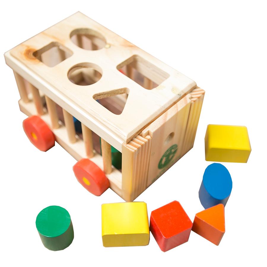 Đồ chơi gỗ - Cũi thả hình GoldCat