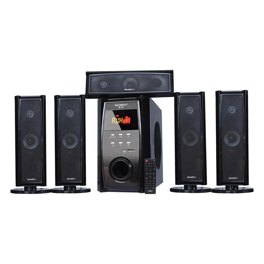 Loa Vi Tính SoundMax B-70/5.1 100W - Hàng Chính Hãng