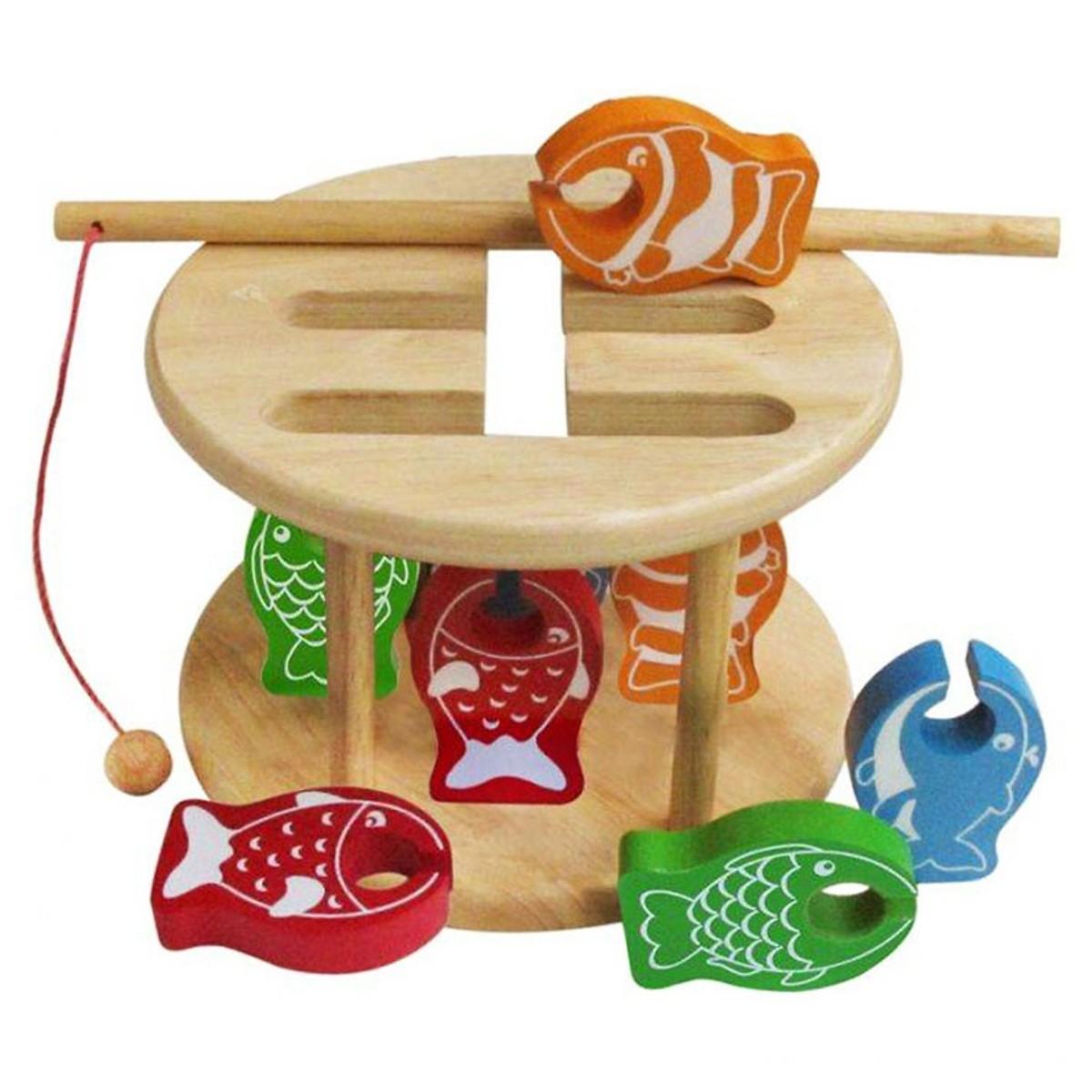 Đồ Chơi Thử Thách Câu Cá Mk - Đồ chơi gỗ
