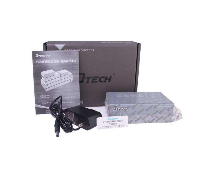 Bộ chia VGA 1 to 4 chính hãng DTECH DT-7254