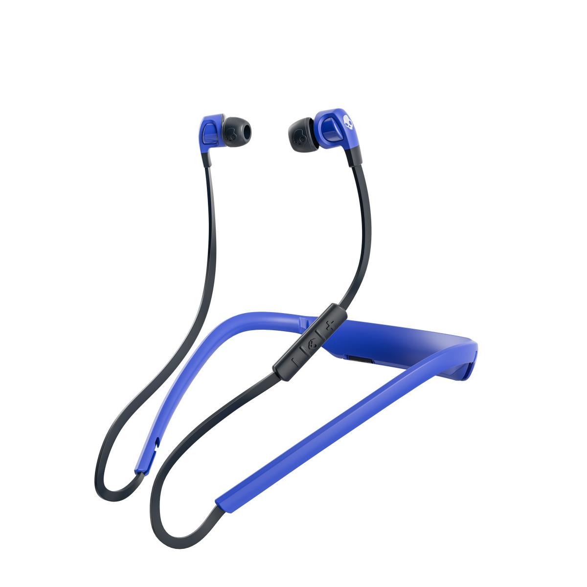 Tai Nghe Bluetooth Skullcandy Smokin BudS 2.0 Wireless màu xanh dương SK-S2PGW-K615 - Hàng Chính Hãng