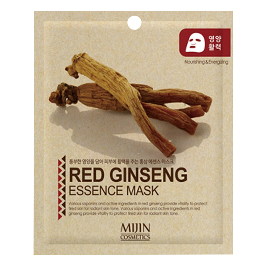 Combo 10 Gói Mặt Nạ Mijin Collagen Mijin Collagen Essence Mask + Mijin Hồng Sâm Mijin Red Ginseng Essence Mask