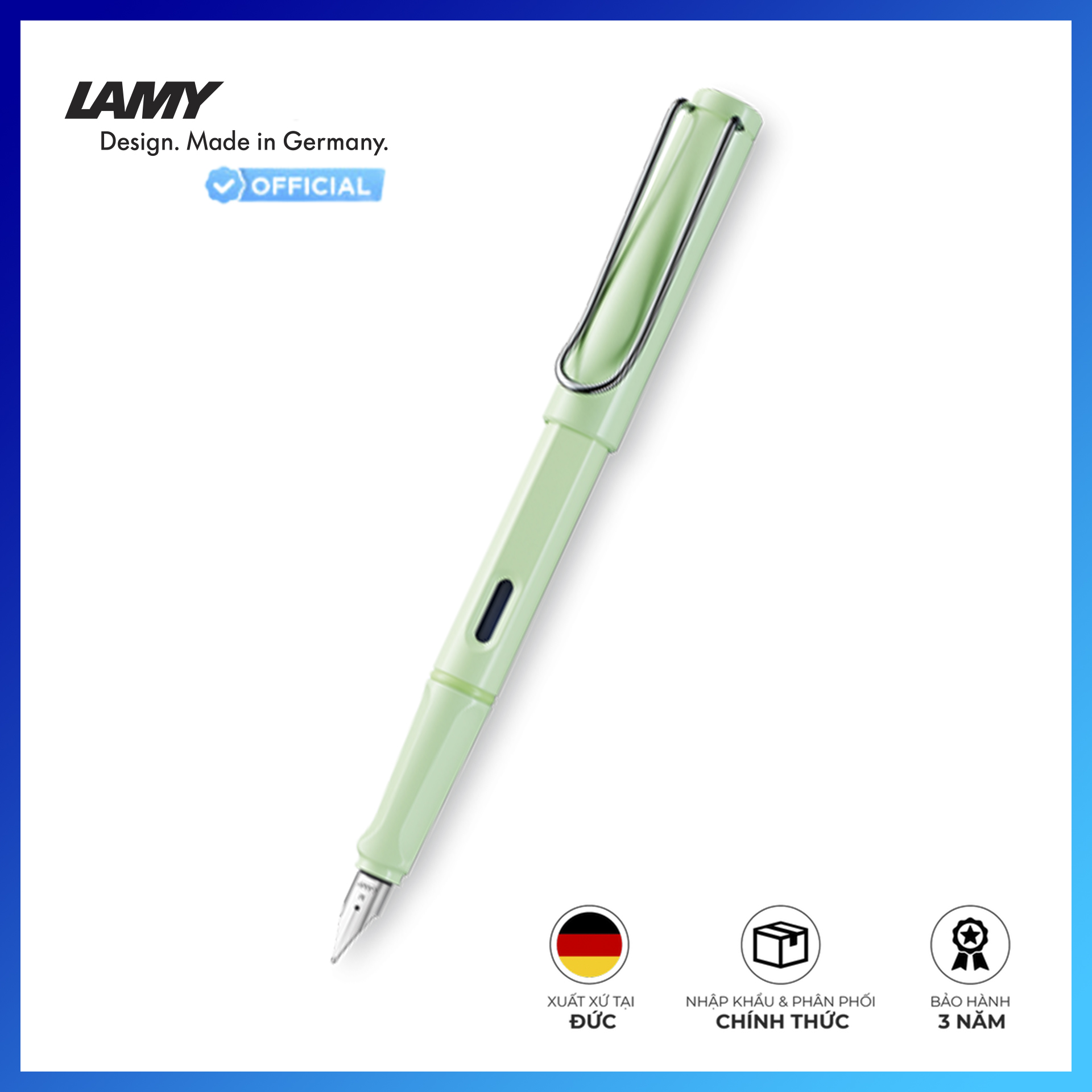 Bút Máy LAMY Safari Mint - Special Edition