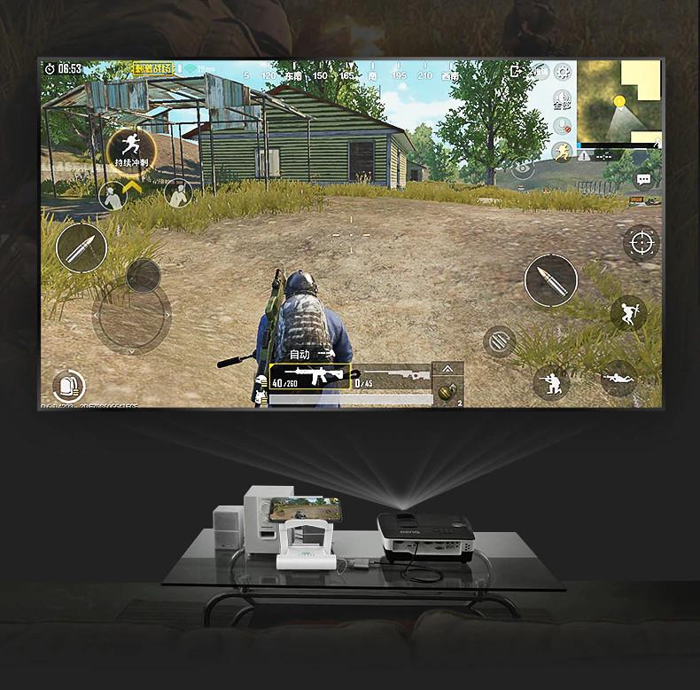 Bộ chuyển đổi hệ game SC-B05 Kết nối Bluetooth cho IOS / Android - Trắng - Hàng Nhập Khẩu