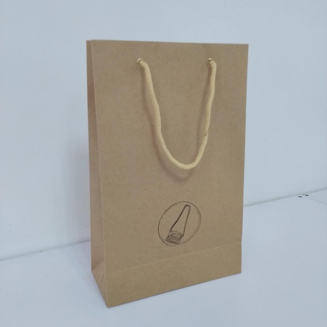 Túi giấy, túi xi măng, túi giấy kraft loại dày, túi giấy đóng sẵn (32 x 18 x 8 cm) (số lượng 5 cái)