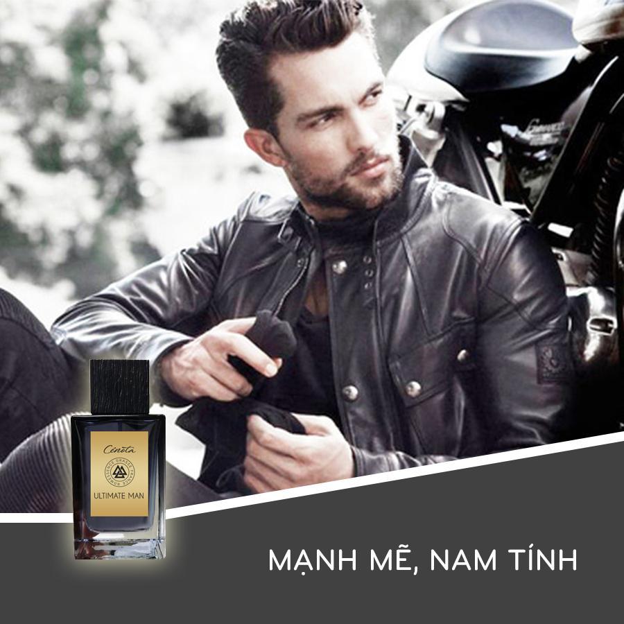 Nước hoa nam Cenota Ultimate Man 100ml mùi hương Gỗ Mạnh Mẽ - Nam Tính - Hiện Đại