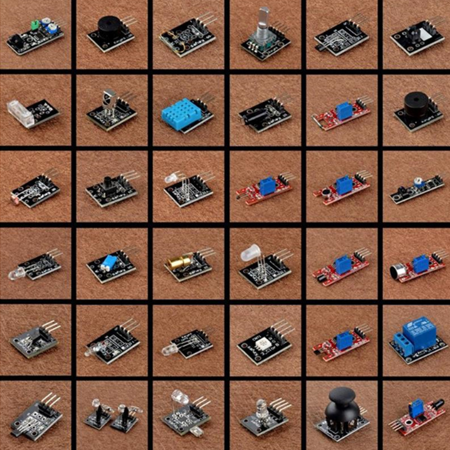 Bộ 36 Module Cảm Biến Cho Arduino