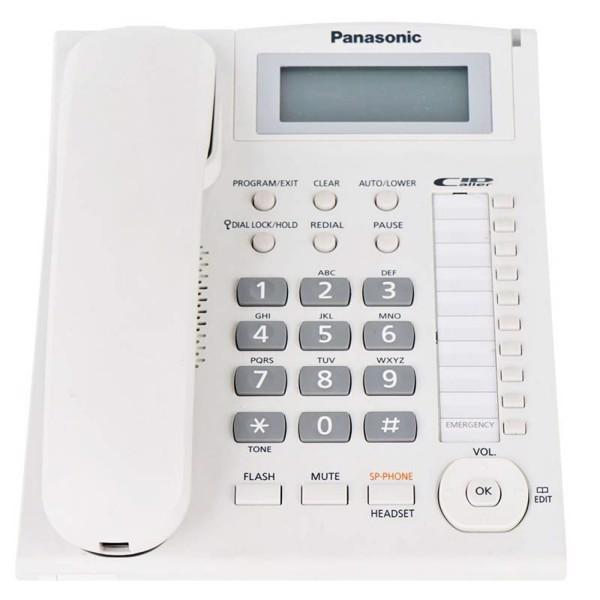 Điên thoai Cô đinh Panasonic KX-TS880MX - Trắng - Hàng chính hãng