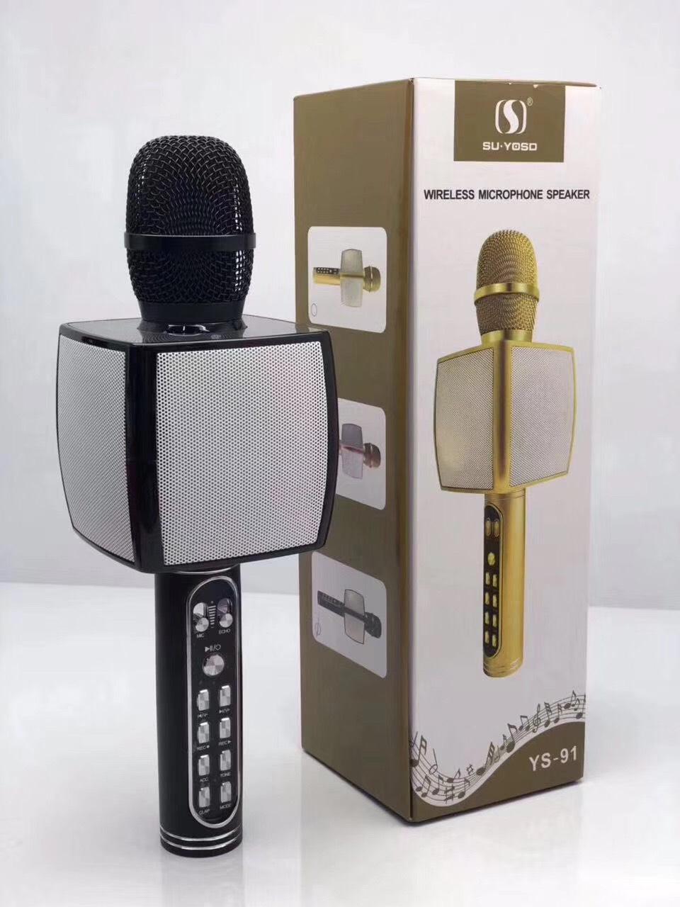 Mic Karaoke Bluetooth Ys -91 - Hàng Nhập Khẩu (Giao Màu Ngẫu Nhiên)