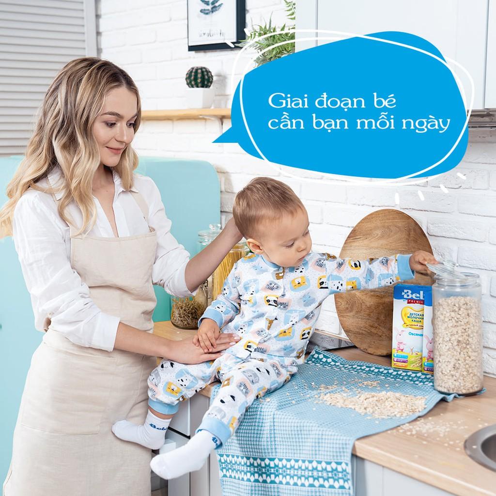 Bột Ăn Dặm Bebi Cao Cấp Sữa 7 Loại Ngũ Cốc Cho Bé Tập Ăn Dặm Từ 6 Tháng 200gr