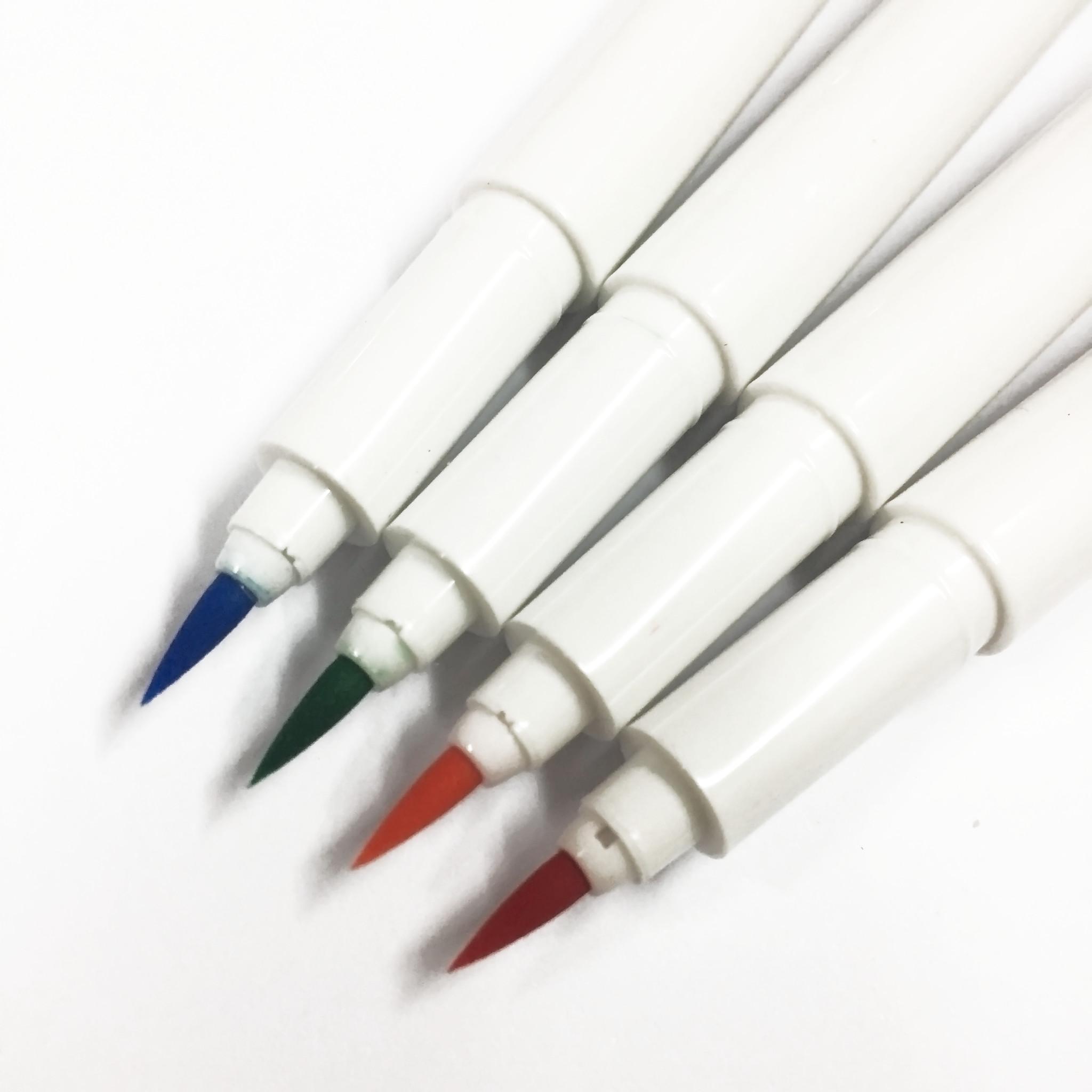 Bút lông đầu cọ viết calligraphy Marvy Artist Brush 1100 - Carmine (19)