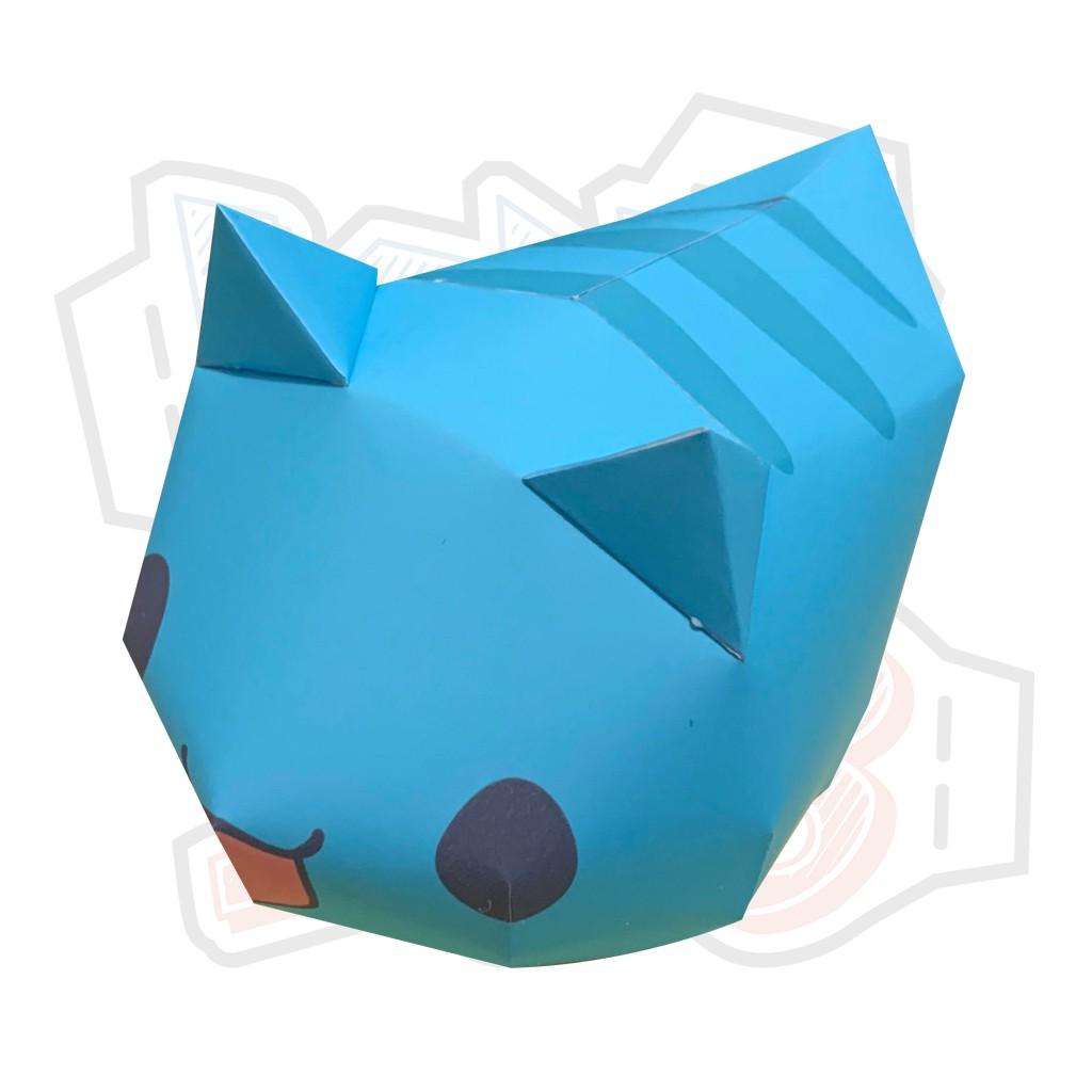 Mô hình giấy Anime Game cute mèo Capoo
