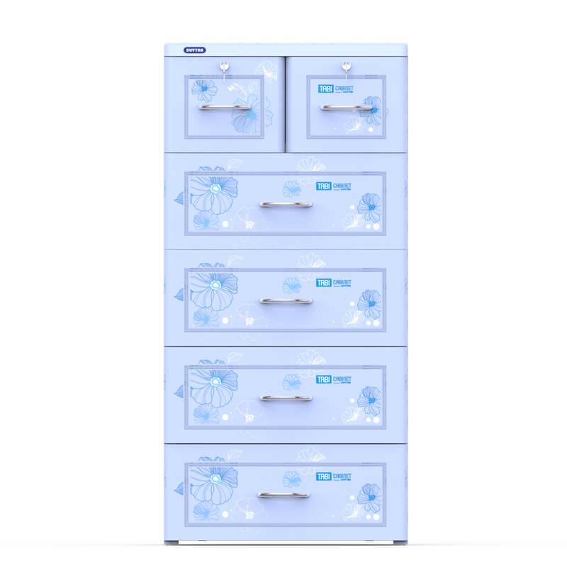 Tủ Tabi Duy Tân 5 Ngăn Dương No.H159/5 ( 60 x 48 x 124 cm ) - Họa tiết ngẫu nhiên