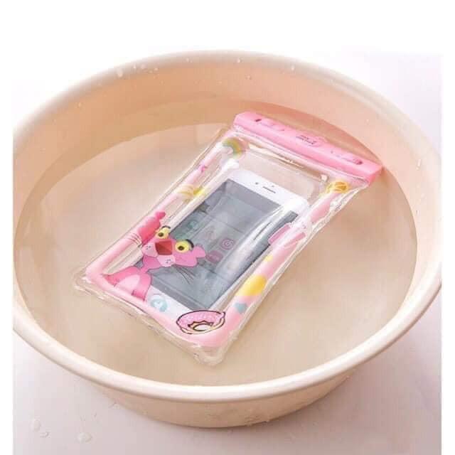 Túi chống nước dễ thương viền phao nổi trên mặt nước kèm giây cheo tiện lợi