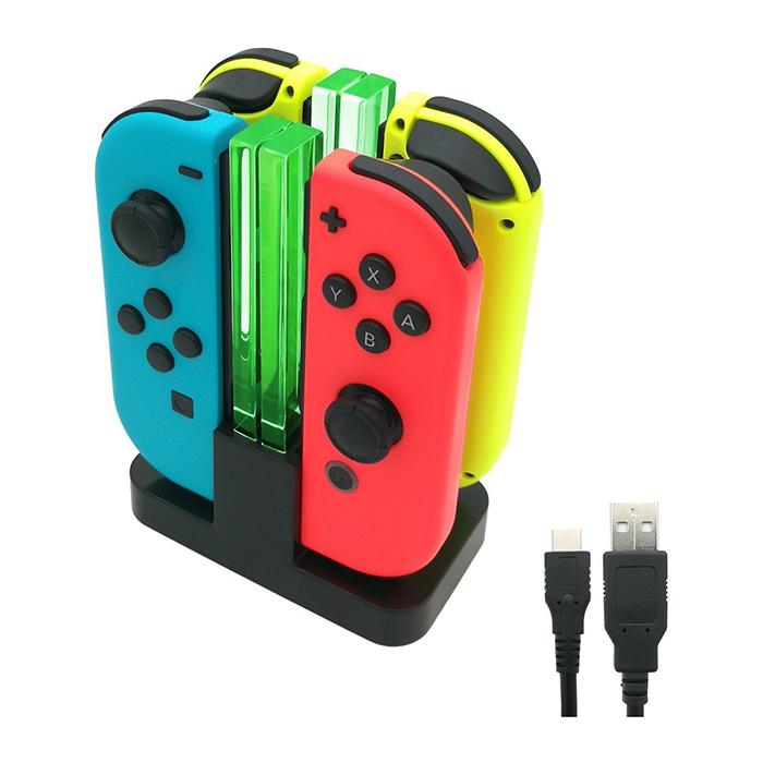 Bộ dock sạc đa năng kèm giá đỡ cho Nintendo Switch - Hàng Nhập Khẩu