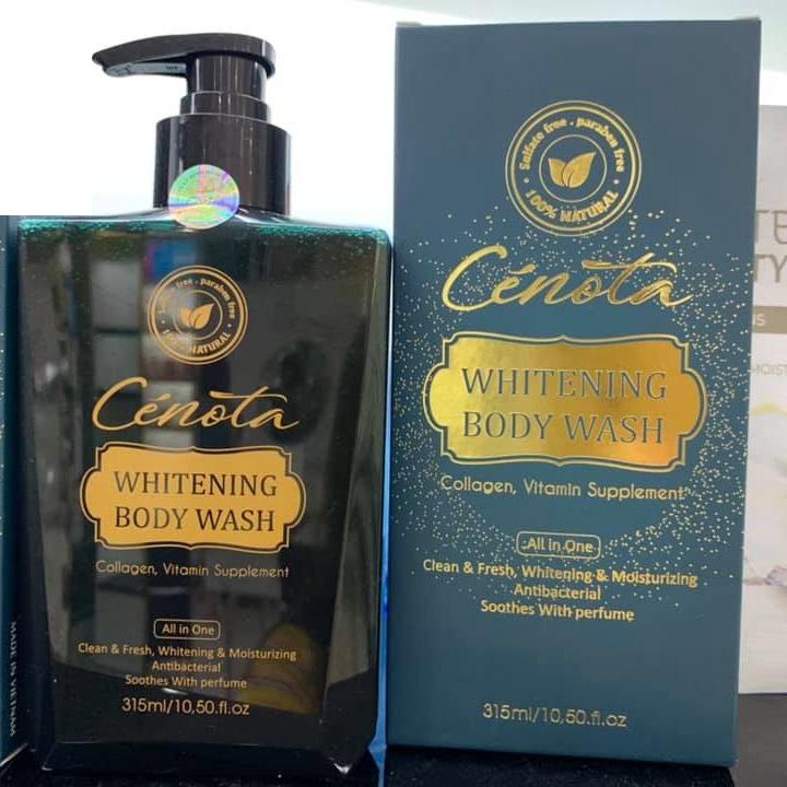 Sữa tắm Cénota Whitening Body Wash CHÍNH HÃNG 315ml