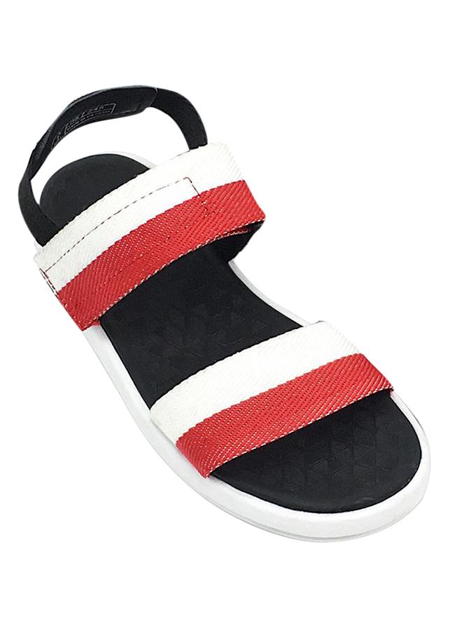 Giày Sandal Nữ SHAT THN010 - Đỏ Trắng