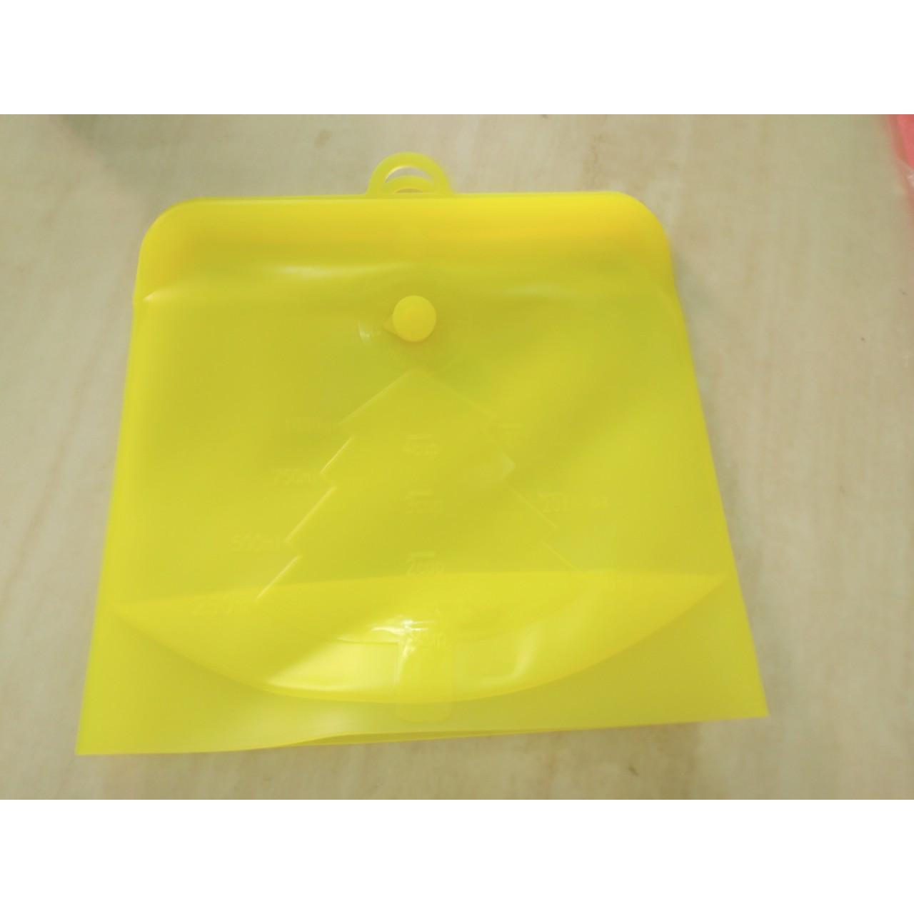 Túi đựng thực phẩm bằng silicone dạng nút ( sản phẩm đã được kiểm định)